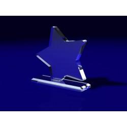 Trofeo acrilico estrella