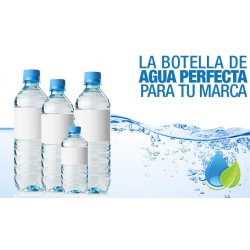Agua purificada botella desechable con gas 500 cc